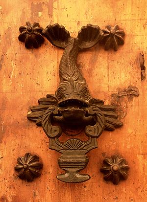 Detalle de Puerta en Cartagena Colombia