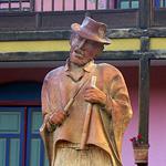 Monumento a Jorge Velosa - compositor colombiano