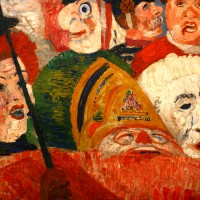 Christ in Brussels - Ensor