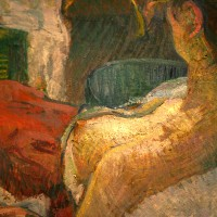 Model Resting - Lautrec