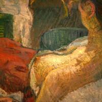 Model Resting - Lautrec