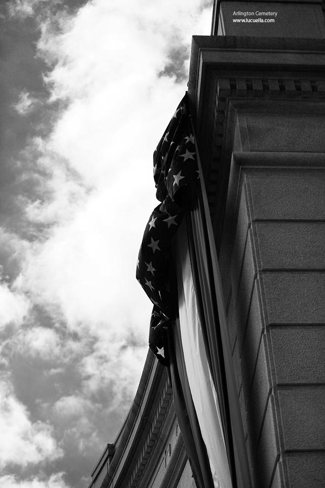 Arlington Cemetery - US flag