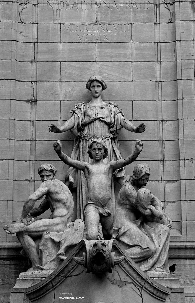 Detalle monumento - Central Park