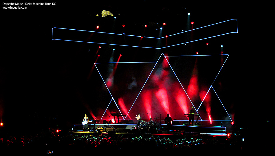 Depeche Mode, Delta Machine Tour, DC