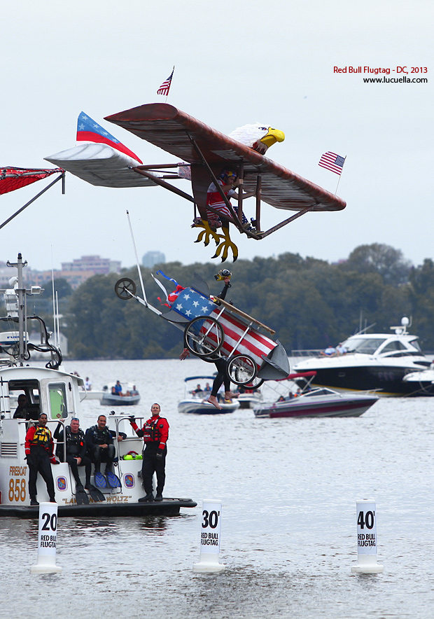 Red Bull Flugtag DC 2013 - Made in 'murica
