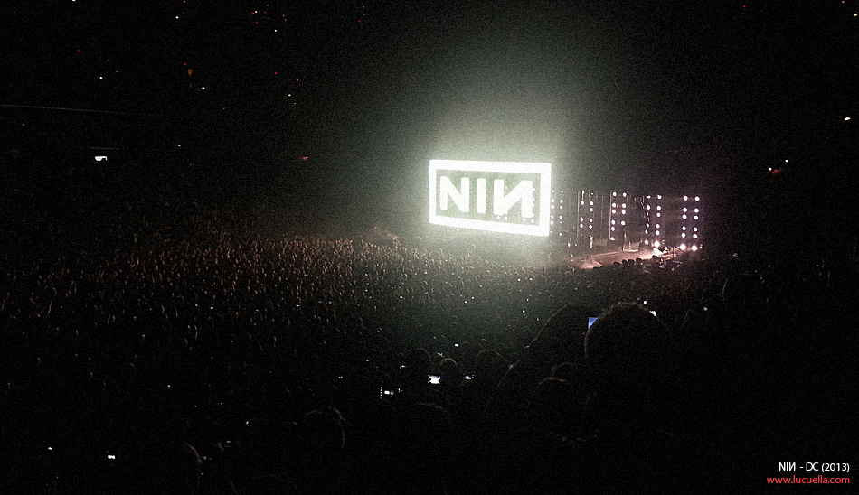 NIN - Tension tour - DC, 2013