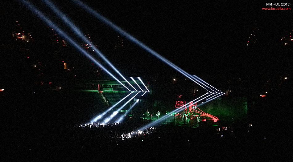 NIN - Tension tour - DC, 2013