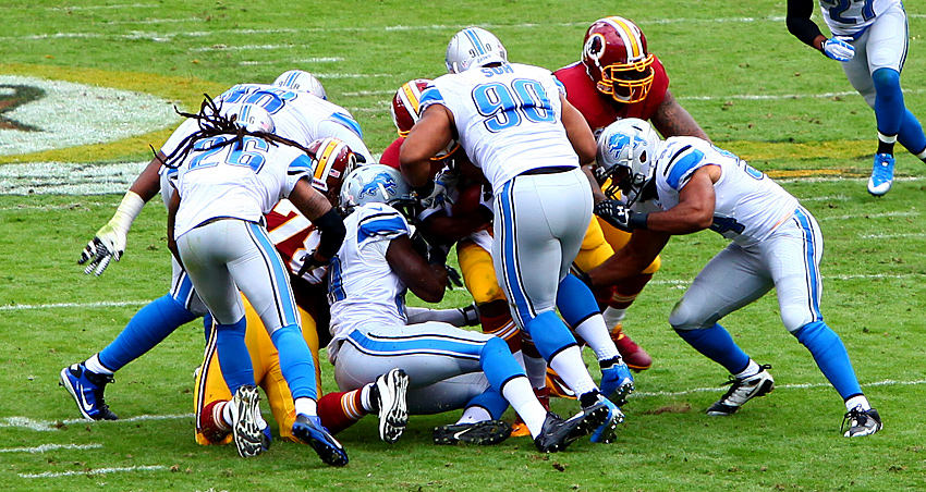 Redskins vs Lions