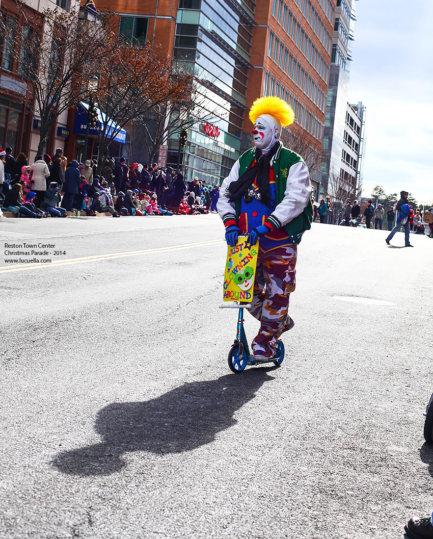 Reston Town Center, Christmas parade