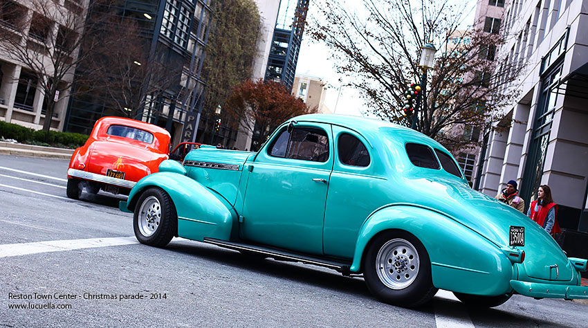 Classic cars, Reston parade 2014