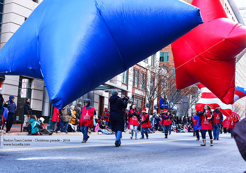 Reston parade, balloons