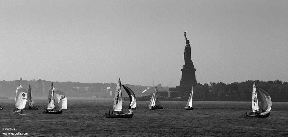 New York desde el crucero